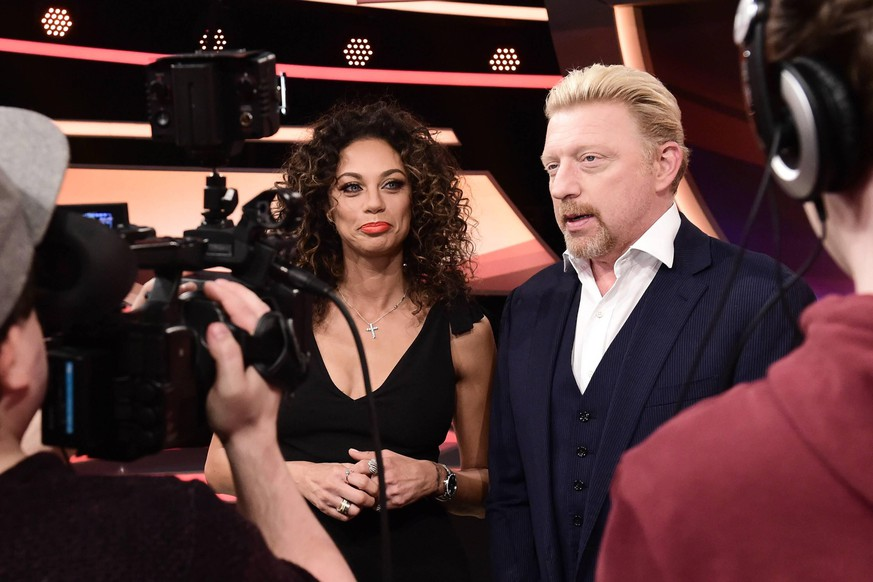 Paarduell am 21.03.2017 im Studio 1 nobeo in Köln Boris Becker mit Ehefrau Lilly Becker xNBx  Paarduell at 21 03 2017 in Studio 1 Nobeo in Cologne Boris Becker with Wife Lilly Becker xNBx