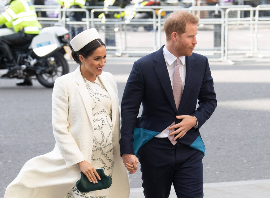 Commonwealth Day 2019 The Duke and Duchess of Sussex attend the Commonwealth Day service at Westminster Abbey in London on March 11, 2019. PUBLICATIONxINxGERxSUIxAUTxONLY Copyright: xAnwarxHusseinx 41717886