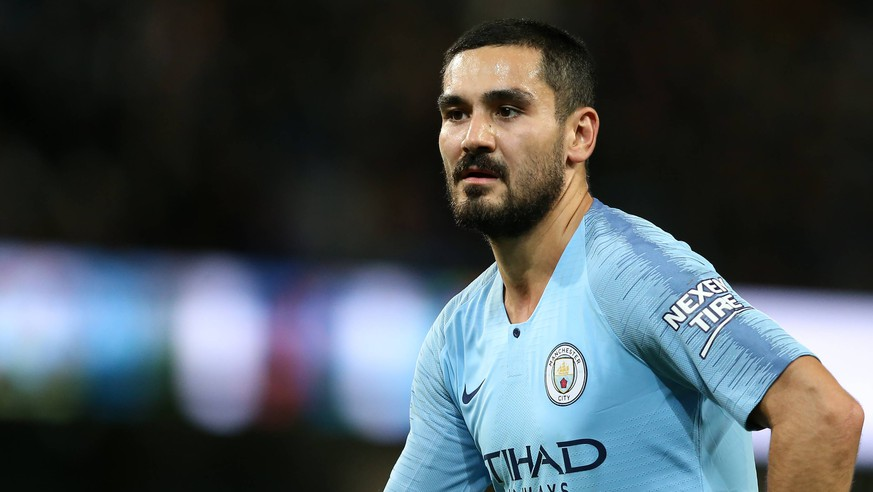 Ilkay Gundogan of Manchester City during the Premier League match at the Etihad Stadium, Manchester. Picture date: 1st December 2018. Picture credit should read: James Wilson/Sportimage PUBLICATIONxNOTxINxUK SPI38601.JPG