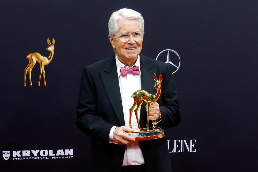 Frank Elstner rührt beim Bambi Promis zu Tränen - ARD setzt noch einen drauf