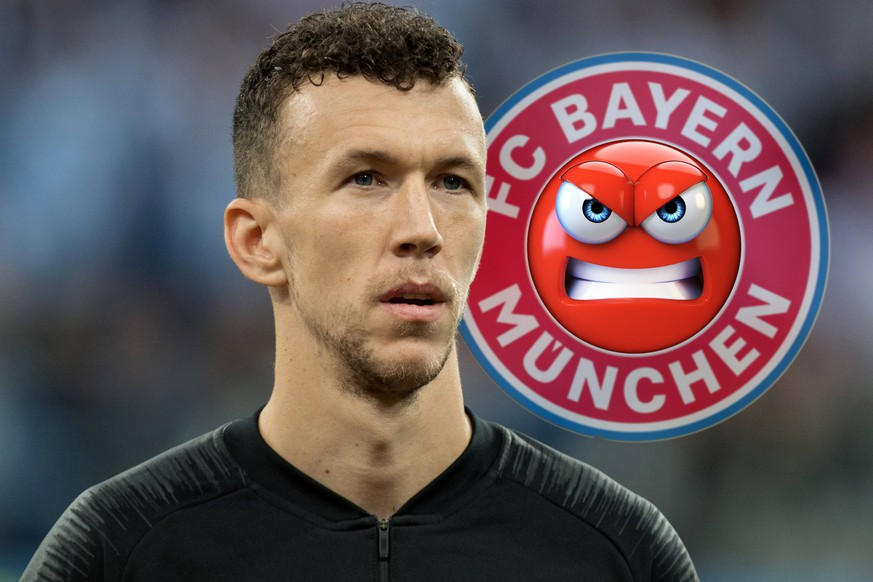 FOTOMONTAGE: Ivan PERISIC offenbar vor Wechsel zum FC Bayern Muenchen. Archivfoto: Ivan PERISIC (CRO) singt die Nationalhymne mit, singend, Praesentation, Pro¤sentation, Line up, Aufstellung, Brustbild, Argentinien (ARG) - Kroatien (CRO) 0:3, Vorrunde, Gruppe D, Spiel 23, am 21.06.2018 in Moskau; Fussball Weltmeisterschaft 2018 in Russland vom 14.06. - 15.07.2018. Ã'Â *** PHOTOMONTAGE Ivan PERISIC obviously before change to FC Bayern Munich Archivfoto Ivan PERISIC CRO sings the national anthem along, singing, presentation, Pro¤sentation, line up, line up, bust, Argentina ARG Croatia CRO 0 3, preliminary round, Group D, match 23, on 21 06 2018 in Moscow Football World Cup 2018 in Russia from 14 06 15 07 2018 ÃÂ