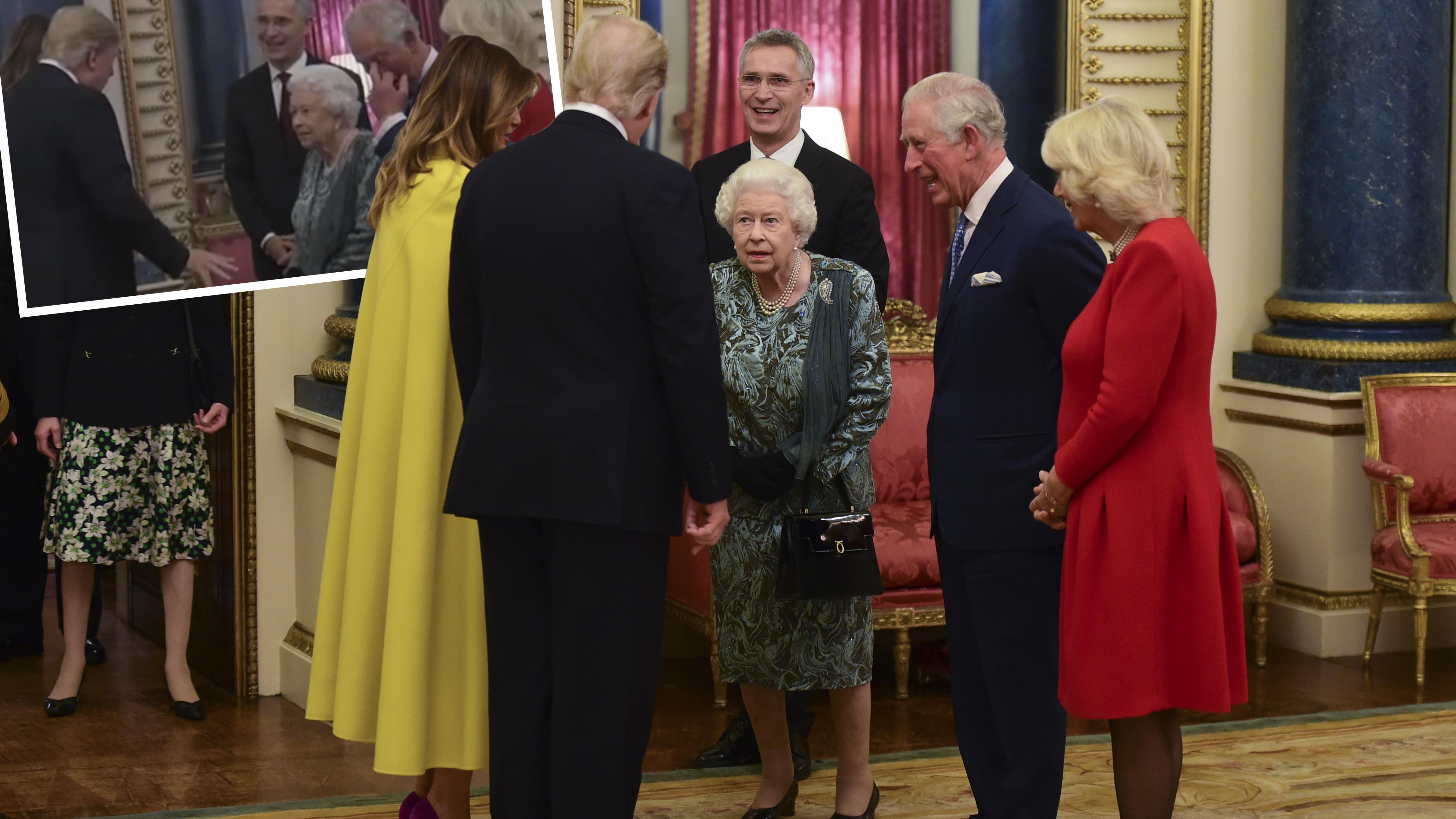 Virales Trump-Video: Geste von Prinz Charles fällt Zuschauern besonders auf