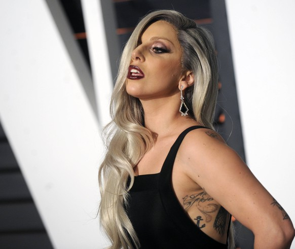 Lady Gaga attending the Vanity Fair Oscar Party 2015 on February 22, 2015 in Beverly Hills, California. Foto:xD.xVanxTinex/xFuturexImage