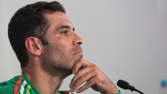 Mexico s national soccer team player Rafael Marquez delivers a presser at the High Performance Center in Mexico City, Mexico, 24 May 2016. EFE/Sashenka Gutierrez MEXICO S NATIONAL SOCCER TEAM PRESSER !ACHTUNG: NUR REDAKTIONELLE NUTZUNG! PUBLICATIONxINxGERxSUIxAUTxONLY CMX001 20160524-635997183906299354  Mexico s National Soccer team Player Rafael Marquez delivers A presser AT The High Performance Center in Mexico City Mexico 24 May 2016 Efe SASHENKA Gutierrez Mexico s National Soccer team presser ATTENTION only editorial Use PUBLICATIONxINxGERxSUIxAUTxONLY  20160524