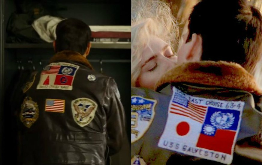 """""""Top Gun""""-Trailer: Fans entdecken Detail auf Jacke und lösen Kontroverse aus"""