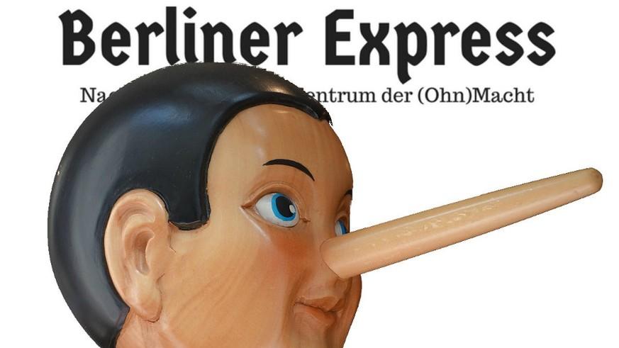 Der Berliner Express Postet Falsche Politiker Zitate Watson