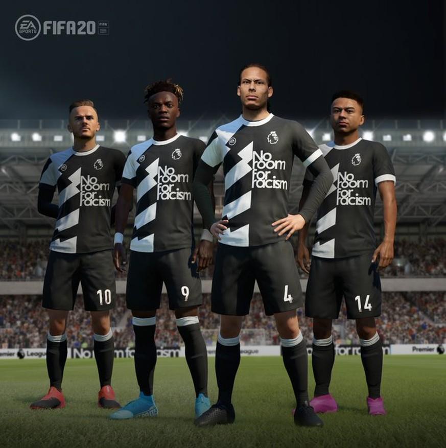 Neues Update für FIFA 20 – EA will ein Zeichen gegen Rassismus setzen