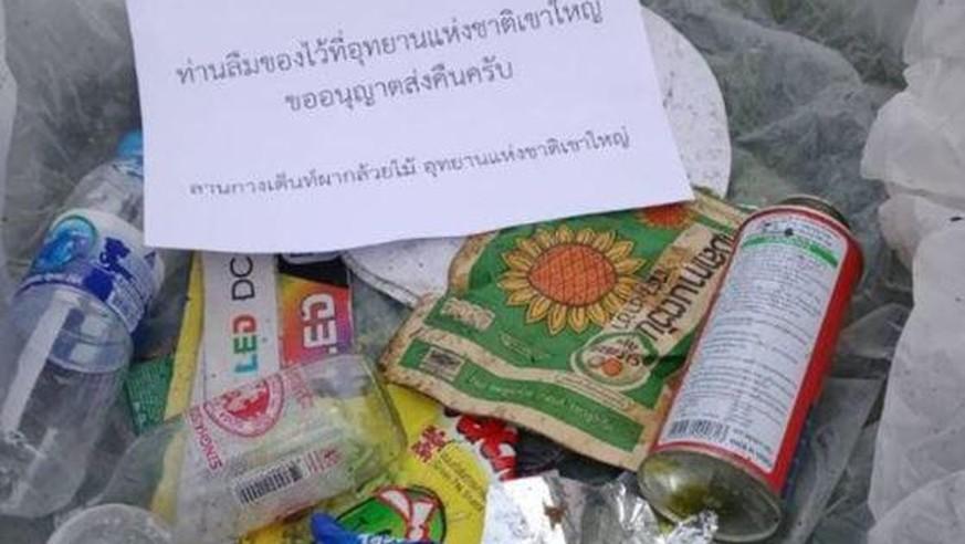Nationalpark in Thailand schickt Müll per Post an Touristen zurück