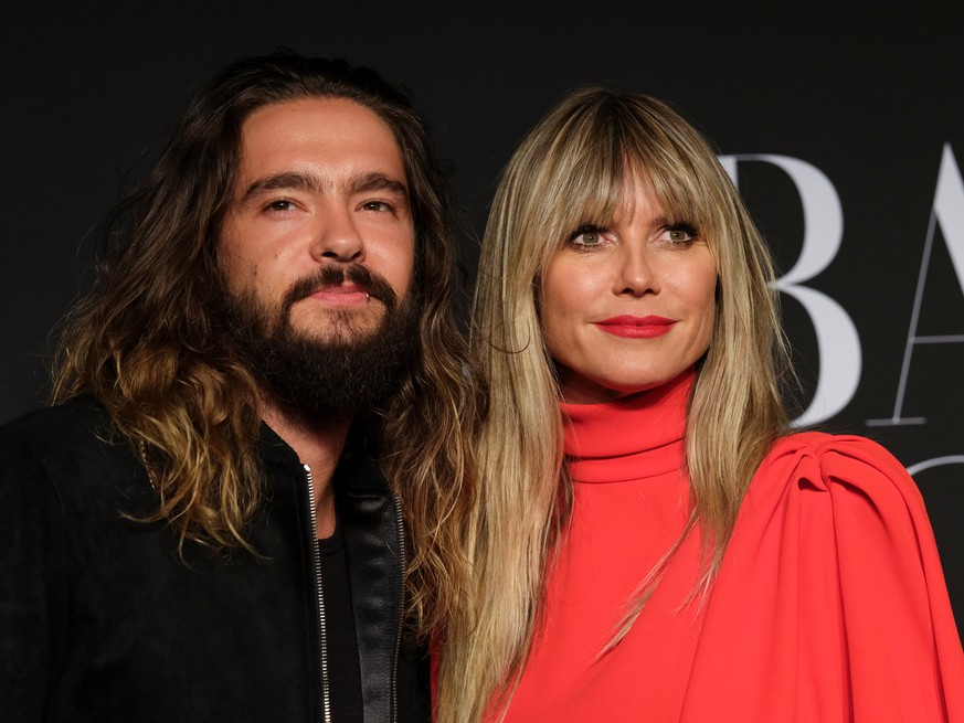 Tom Kaulitz and Heidi Klum attend the Harper's Bazaar celebration of 'ICONS By Carine Roitfeld' at The Plaza Hotel during New York Fashion Week in Manhattan, New York, U.S., September 6, 2019. Picture taken September 6, 2019. REUTERS/Caitlin Ochs