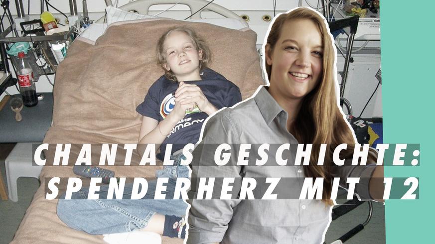 """""""Ich lag 2 Wochen im Koma"""": Die Geschichte von Chantal, dem Hockeyprofi mit Spenderherz"""