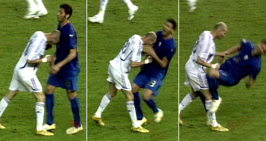 """""""Diese Nutte"""" und was Materazzi Zidane noch alles vor dem Kopfstoß sagte"""