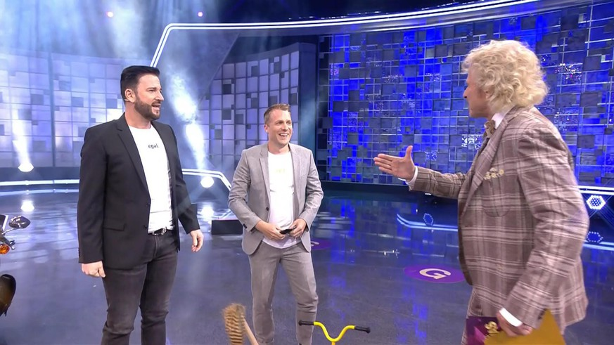 """Because you are so in love"" Wendler and Pocher crash RTL show"