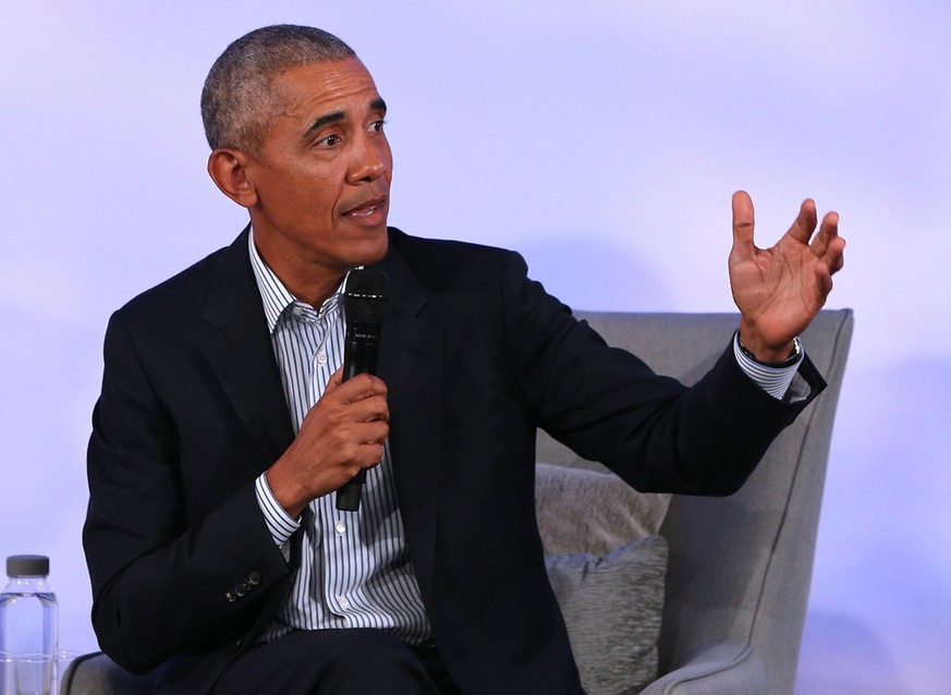 Entertainment Bilder des Tages November 20, 2019, USA: Former President Barack Obama speaks during the closing session of the 2019 Obama Foundation Summit meeting at the Kaplan Institute at the Illinois Institute of Technology in Chicago on Oct. 29, 2019. USA PUBLICATIONxINxGERxSUIxAUTxONLY - ZUMAm67 20191120zafm67012 Copyright: xTerrencexAntonioxJamesx