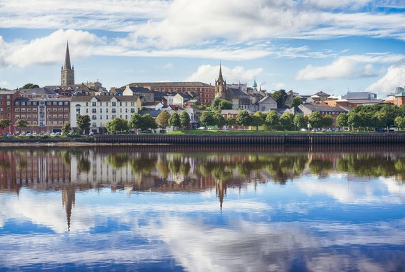 Londonderry, Derry Northern Ireland UK