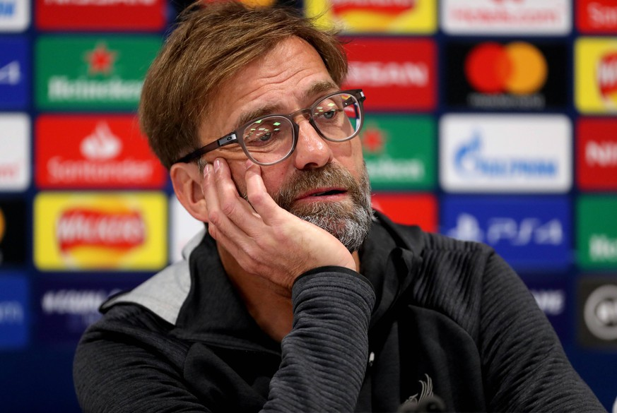 Liverpool win the Premier League package File photo dated 26-11-2019 of Liverpool manager Jurgen Klopp during the press conference, PK, Pressekonferenz at Anfield, Liverpool. FILE PHOTO PUBLICATIONxINxGERxSUIxAUTxONLY Copyright: xRichardxSellersx 54309711