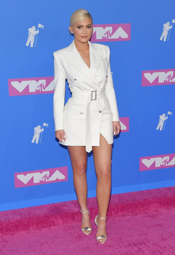 Kylie Jenner arriving at the MTV Video Music Awards in New York City - Aug 20, 2018 - MTV Video Music Awards 2018, New York City New York United States Radio City Music Hall PUBLICATIONxINxGERxSUIxAUTxONLY Copyright: xOConnorx h_00537696
