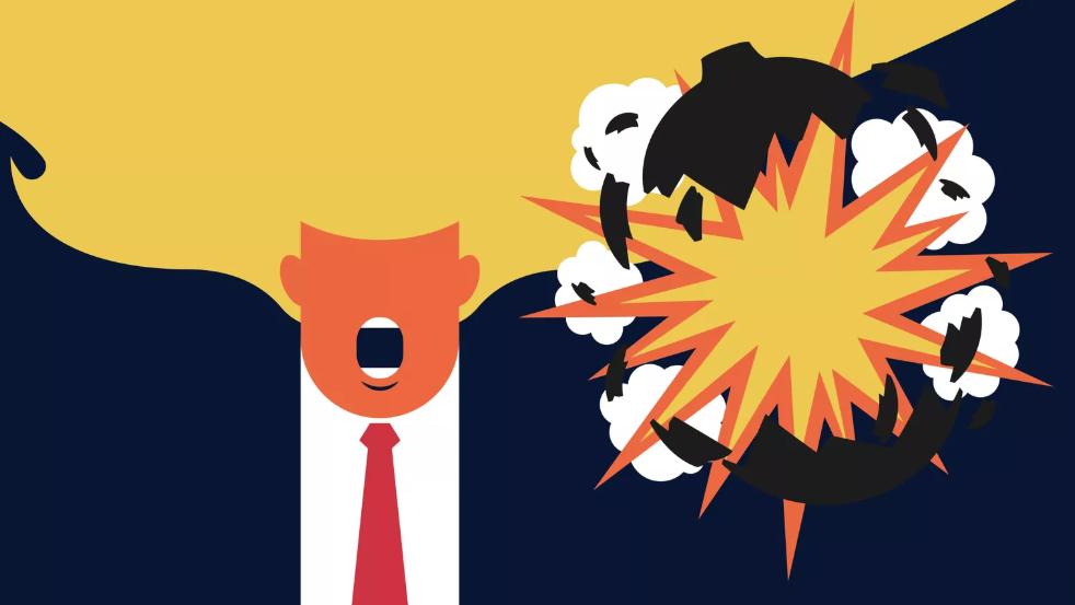 Die Bolton-Bombe ist explodiert – und zwar mitten in Trumps Gesicht