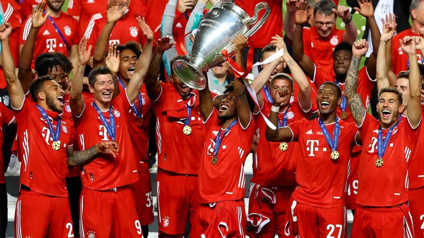 Die schönsten Bilder: So ausgelassen feiern die Bayern ihren Triumph
