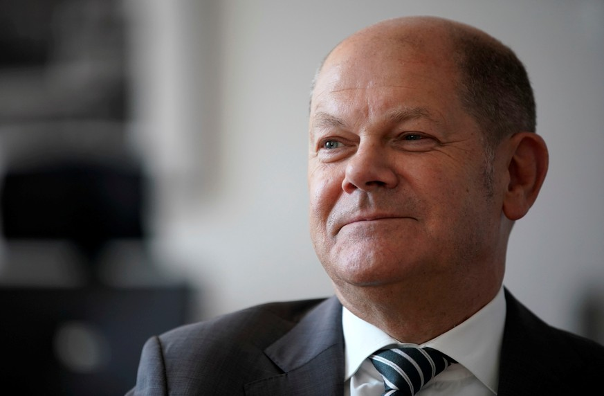 FILE PHOTO: German Finance Minister Olaf Scholz is pictured in Berlin, Germany, June 5, 2019. REUTERS/Fabrizio Bensch/File Photo