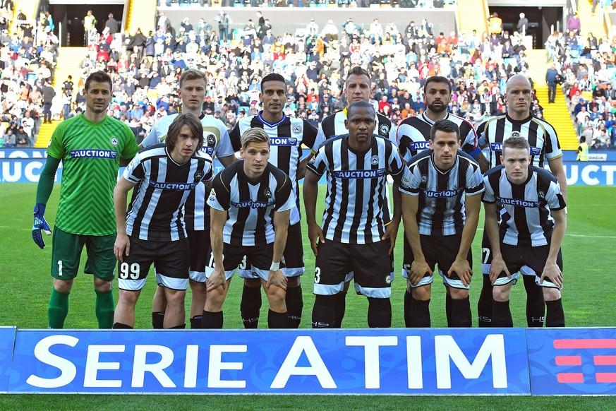best website 661a1 e27d5 Udinese Calcio: Serie A-Verein lief am Sonntag mit elf ...