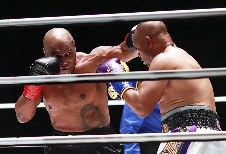 Mike Tyson Boxkampf