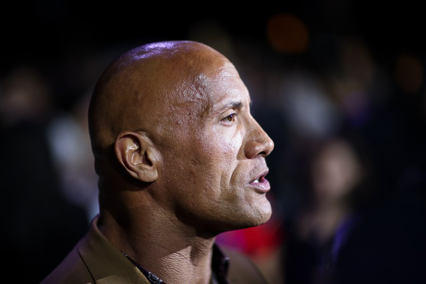 BEIJING, CHINA - AUGUST 05:  Dwayne Johnson attends the