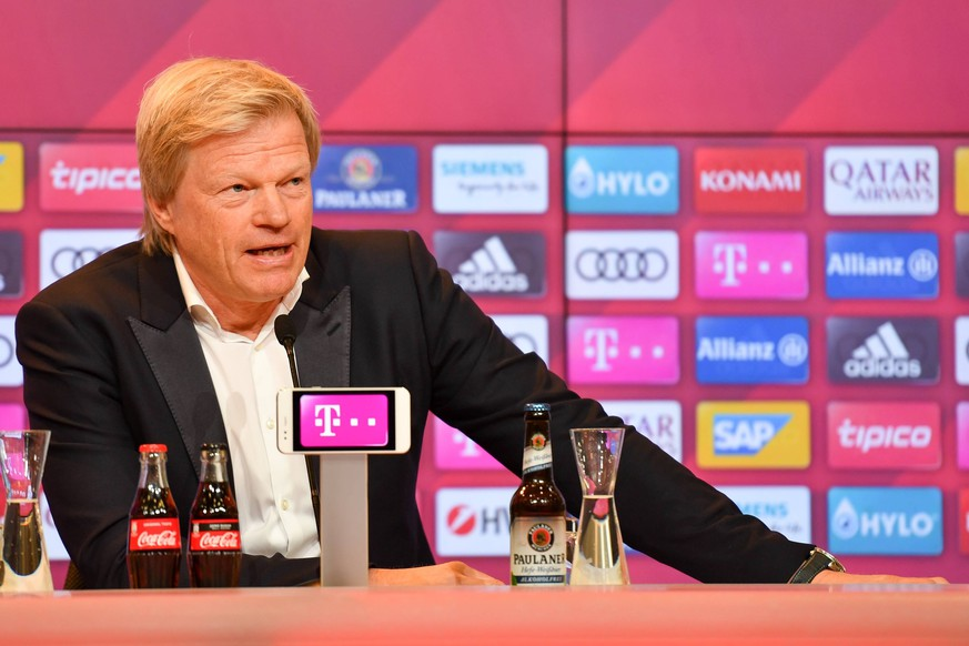 SOCCER - 1.DFL, Bayern, press conference, PK, Pressekonferenz MUNICH,GERMANY,07.JAN.20 - SOCCER - 1. DFL, 1. Deutsche Bundesliga, FC Bayern Muenchen, press conference. Image shows member of the board Oliver Kahn Bayern. PUBLICATIONxINxGERxHUNxONLY GEPAxpictures/xUlrichxGamel