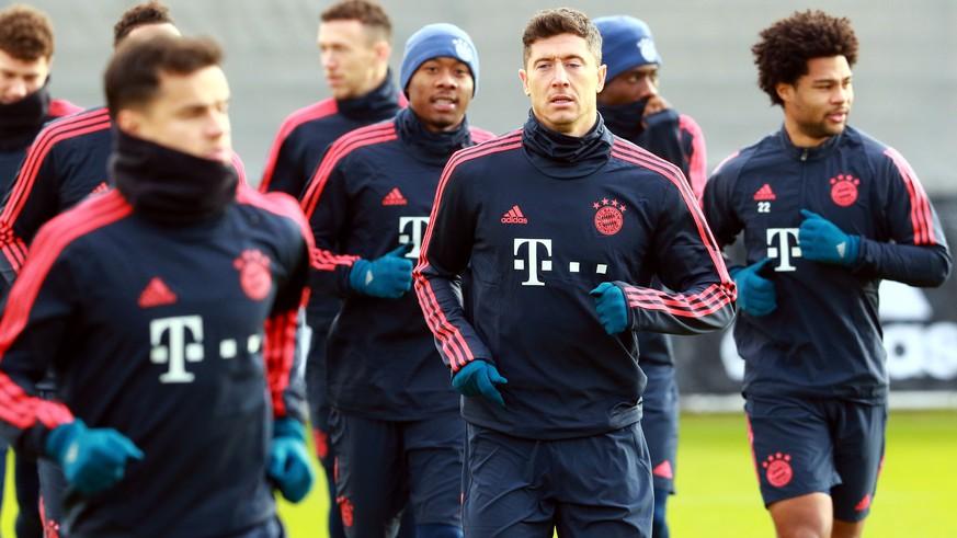 Trainingslager Bayern