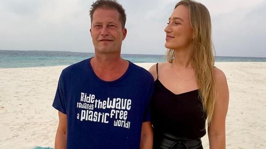 """""""Ich lieeebe dich"""": Til Schweiger und Freundin machen sich über den Wendler lustig"""