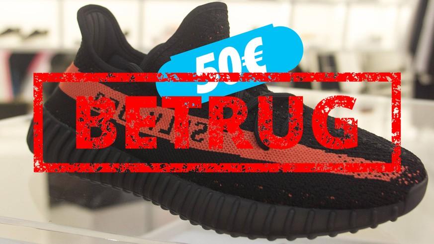 dcf3bae9f98223 So fallt ihr beim Sneaker-Kauf im Internet nicht auf Betrüger herein ...