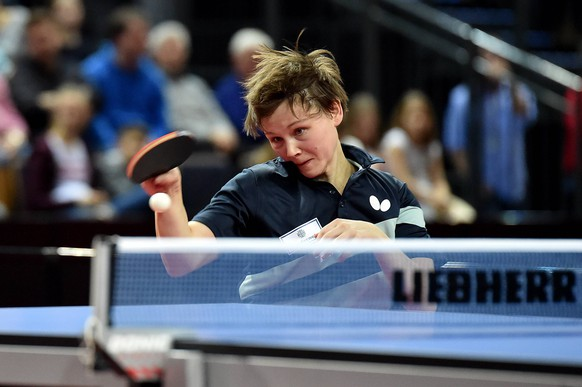 Tischtennis 87. Nationale Deutsche Meisterschaften am 03.03.2019 in der Rittal-Arena in Wetzlar Nina Mittelham ( ttc berlin eastide ) *** Table tennis 87 National German Championships on 03 03 2019 in the Rittal Arena in Wetzlar Nina Mittelham ttc berlin eastide xJFx