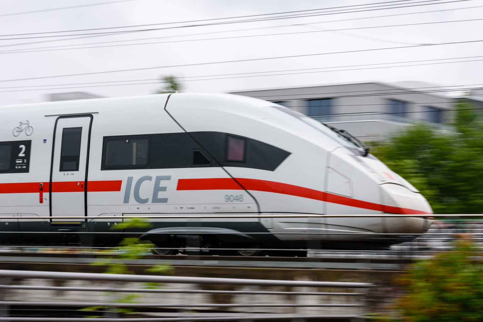 May 11, 2020, Berlin, Berlin, Germany: A German Intercity Express commonly known as ICE trainset can be seen in Berlin in rainy weather. Plans of the Ministry of Finance and the Ministry of Transport suggest that the federal government plans to support the Deutsche Bahn AG in the Corona crisis with financial support worth billions. The plan is to increase equity capital and raise the debt limit of the federal corporation. In return, the railway promised massive savings in personnel and material costs. Berlin Germany - ZUMAs172 20200511zaps172008 Copyright: xJanxScheunertx
