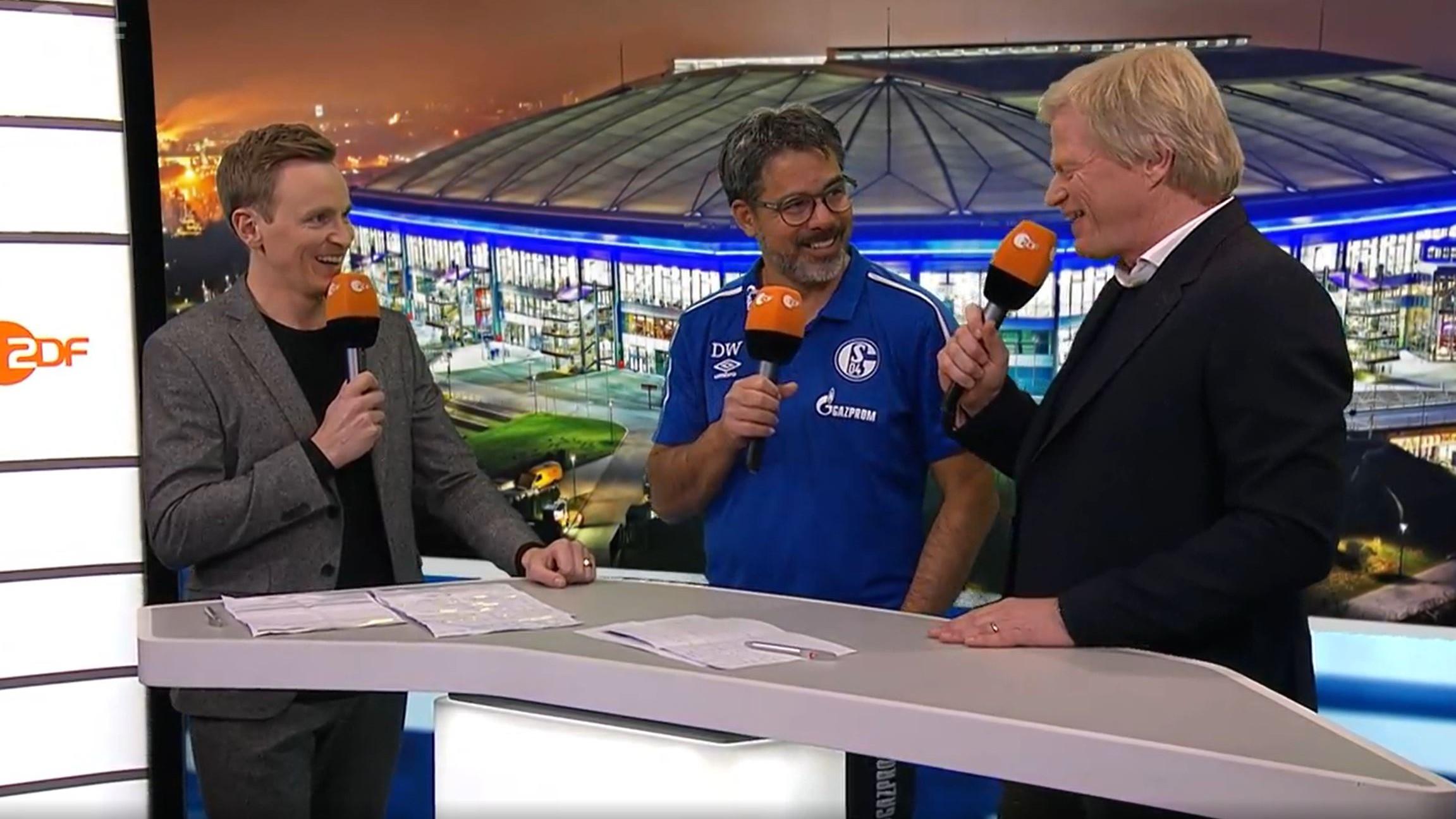FC Bayern: Kahn mit umstrittenen Auftritt beim ZDF: Schalkes Wagner lacht über Experten - watson image