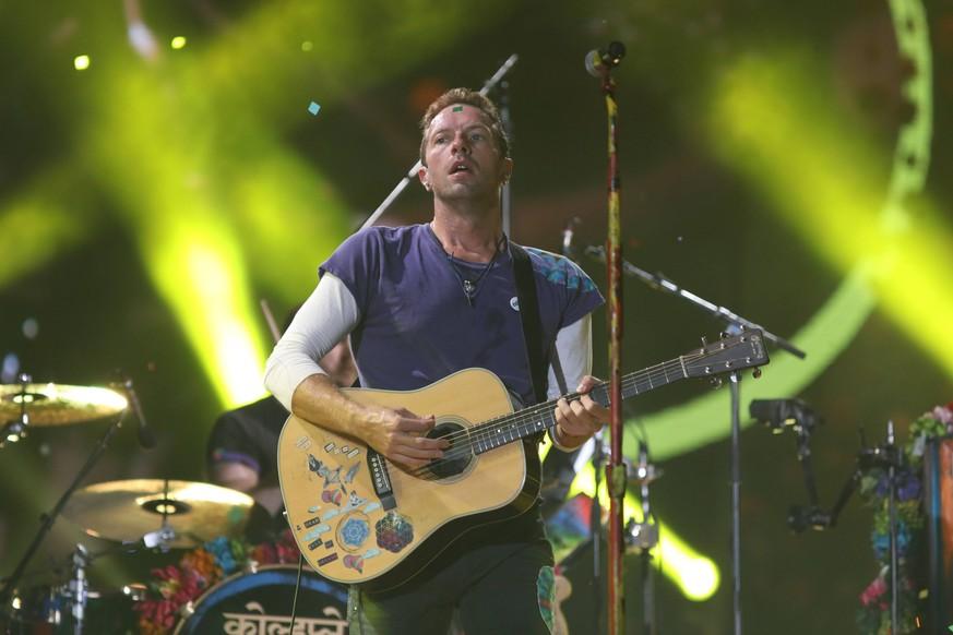Coldplay: Die Band will mit neuem Album nicht auf Tour gehen