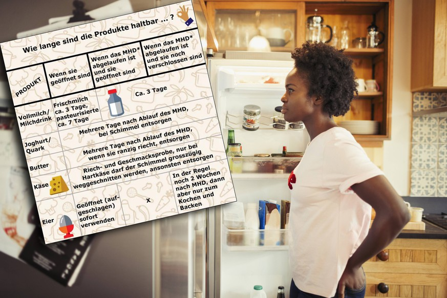 Hungry woman peering into refrigerator in kitchen Hungry woman peering into refrigerator in kitchen. PUBLICATIONxINxGERxSUIxHUNxONLY CAIAxIMAGE/SCIENCExPHOTOxLIBRARY F020/7188