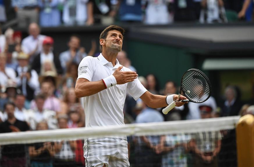 Triumph von Djokovic: Sportwelt staunt über das längste Wimbledon-Finale aller Zeiten