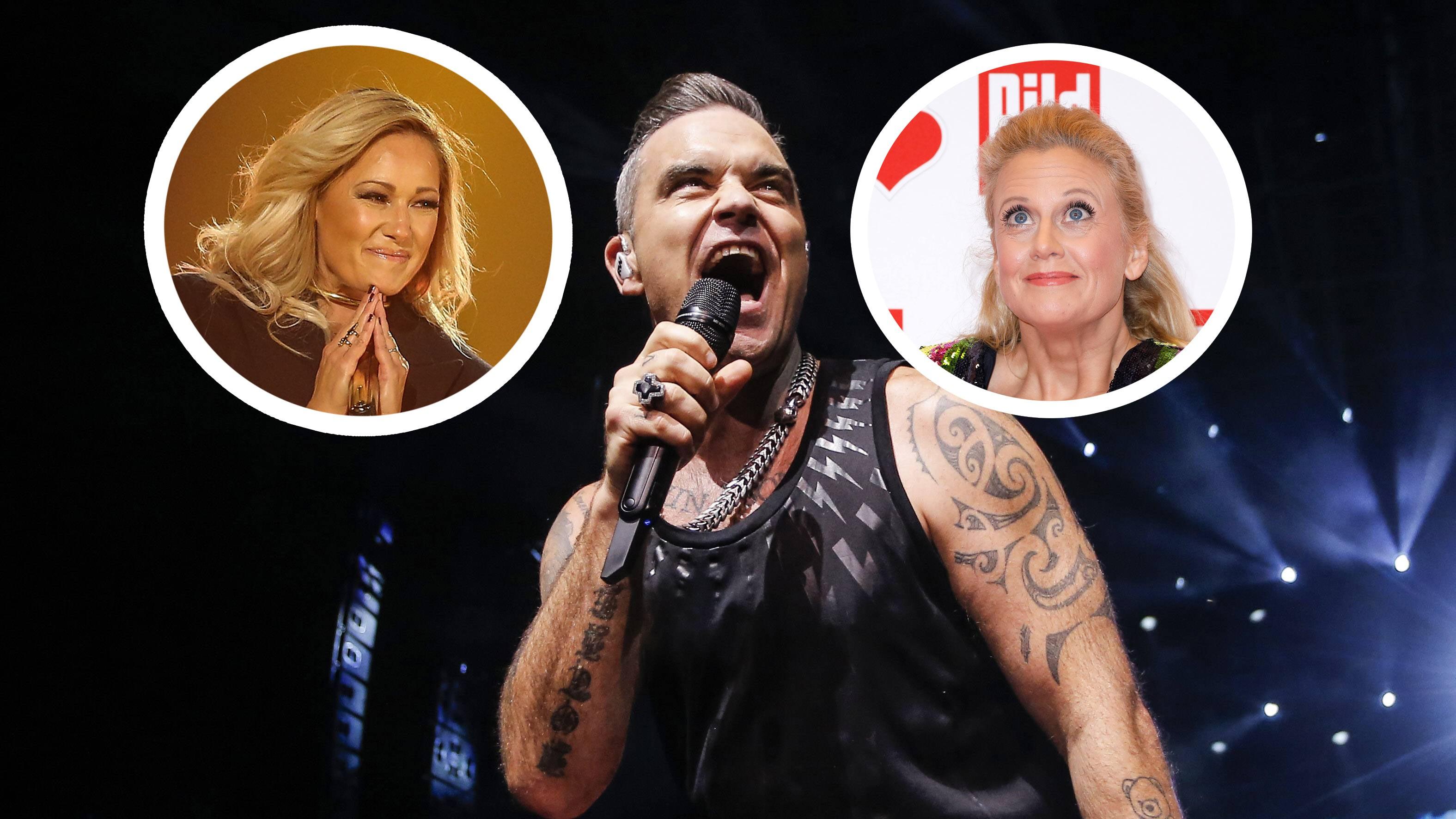 """Helene Fischer oder Schöneberger? Robbie Williams antwortet auf """"unanständige Frage"""""""