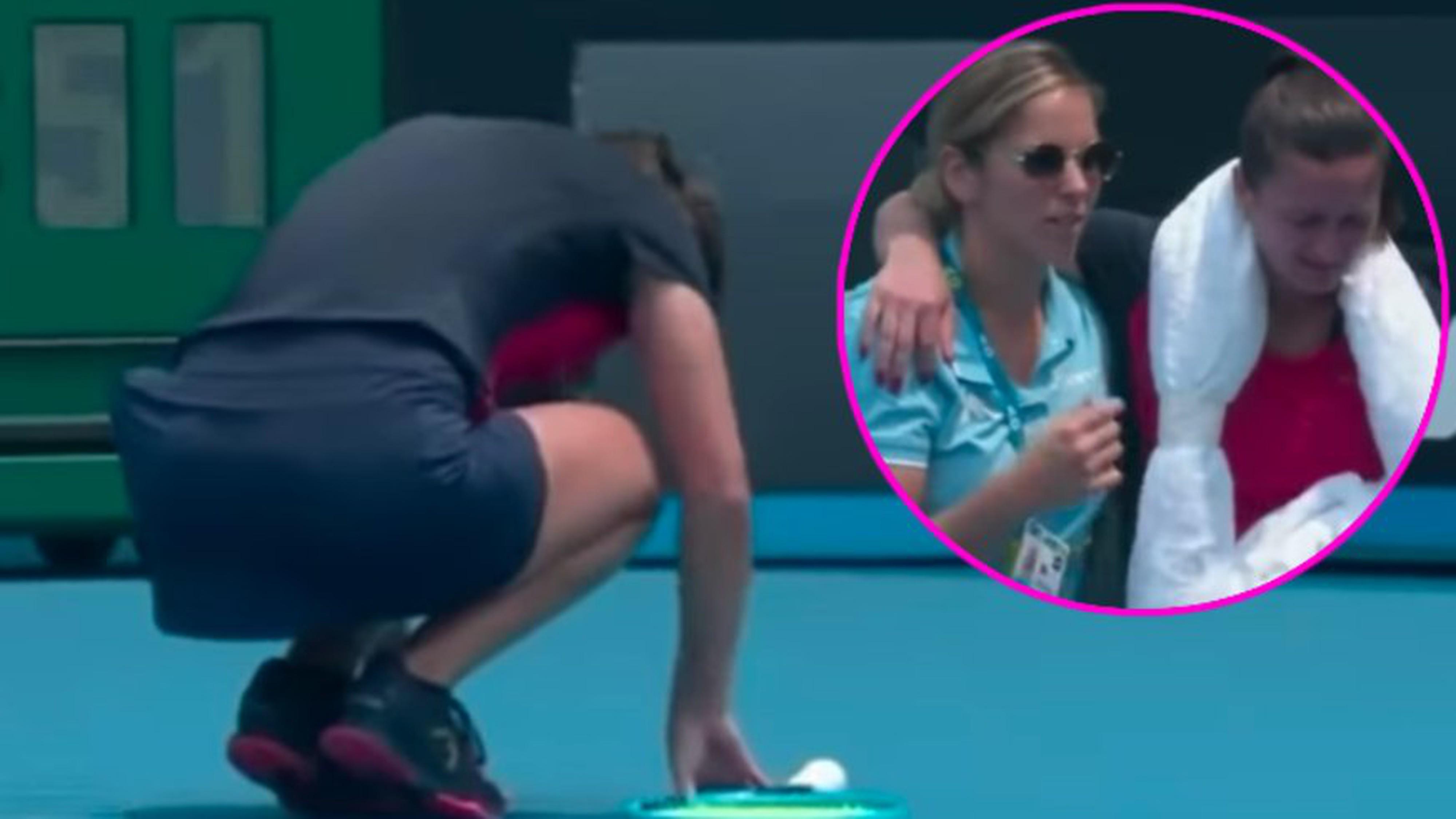 Die miese Luft fordert bei den Australian Open ein erstes Opfer