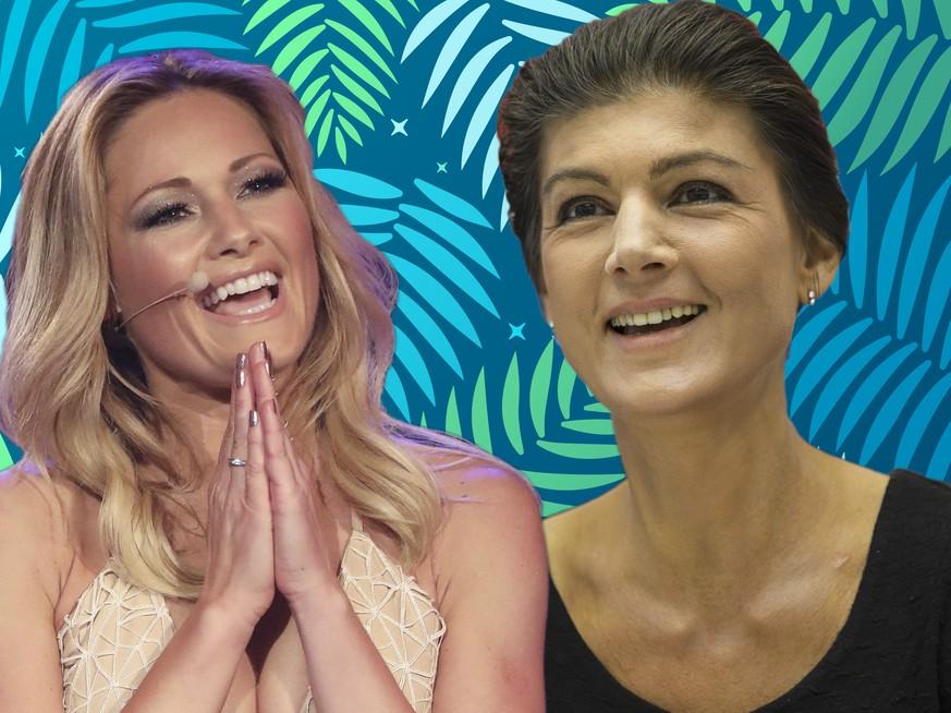 Sahra Wagenknecht und diese 6 Promis sind beliebter als Helene Fischer