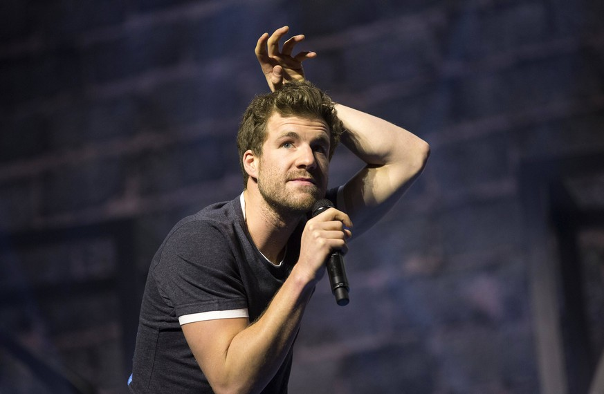 Luke Mockridge mit seinem Programm Lucky Man in der Messehalle. Erfurt, 26.01.2018 *** Luke Mockridge with his program of lucky man in the Messehalle Erfurt 26 01 2018 Foto:xM.xKremerx/xFuturexImage