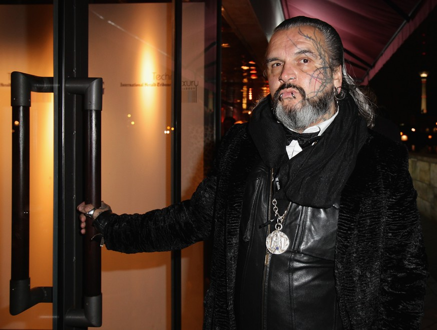 BERLIN - NOVEMBER 17:  Photographer and bouncer Sven Marquardt is pictured at the IHT (International Herald Tribune) Luxury Conference cocktail by IMG at Grill Royal on November 17, 2009 in Berlin, Germany.  (Photo by Andreas Rentz/Getty Images)