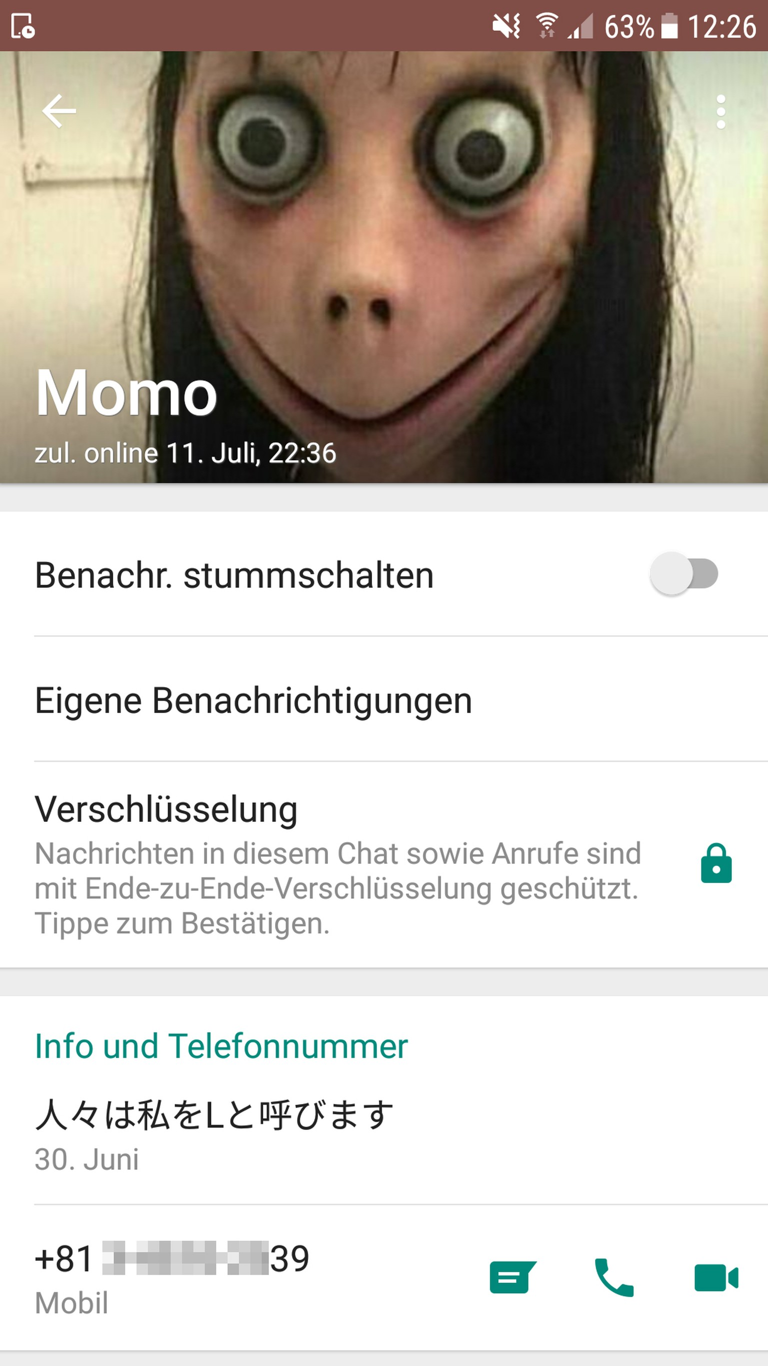 Momo Nummern