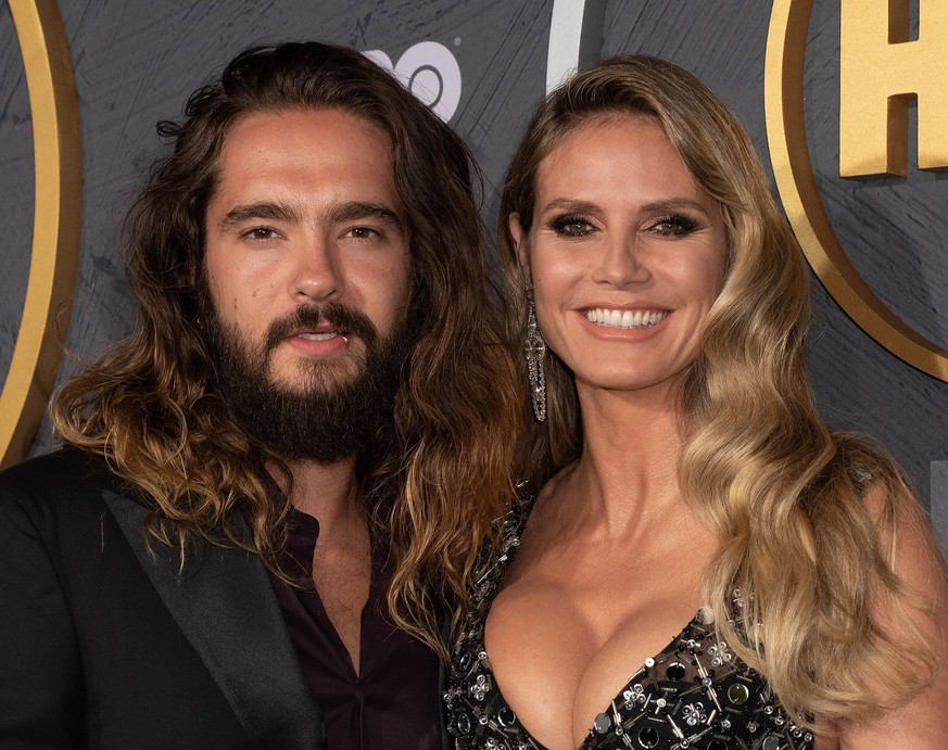LOS ANGELES, CALIFORNIA - SEPTEMBER 22: Heidi Klum and Tom Kaulitz attend HBO s Post Emmy Awards Reception at The Plaza at the Pacific Design Center on September 22, 2019 in Los Angeles, California. Photo: Annie Lesser/imageSPACE/MediaPunch PUBLICATIONxINxGERxSUIxAUTxONLY Copyright: ximageSPACEx