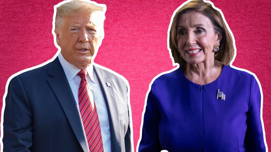 Treffen zwischen Trump und Demokraten endet mit Eklat und schweren Vorwürfen