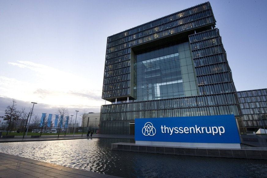 Das QUARTIER, die Konzernzentrale der ThyssenKrupp AG in Essen, Bilanzpressekonferenz der ThyssenKrupp AG in Essen am 23.11.2017. *** The QUARTIER the headquarters of ThyssenKrupp AG in Essen Annual Press Conference of ThyssenKrupp AG in Essen on 23 11 2017