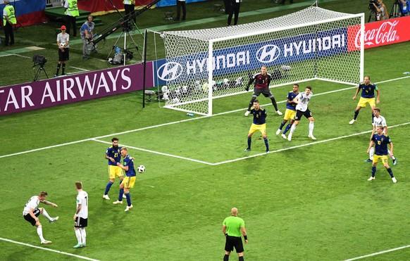 Un momento de esperanza: Alemania está de vuelta en la Copa del Mundo, al menos por un tiempo.