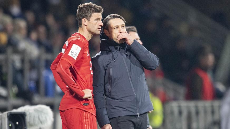 """Thomas Müller mit Seitenhieb auf Niko Kovac: """"War seltsam für mich"""""""