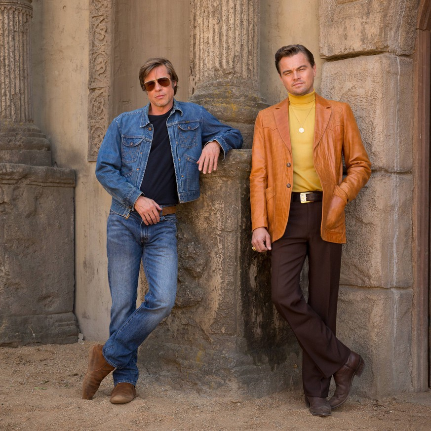 RELEASE DATE: August 9, 2019 TITLE: Once Upon a Time in Hollywood STUDIO: DIRECTOR: Quentin Tarantino PLOT: A TV actor and his stunt double embark on an odyssey to make a name for themselves in the film industry during the Charles Manson murders in 1969 Los Angeles. STARRING: BRAD PITT as Cliff Booth, LEONARDO DICAPRIO as Rick Dalton. Los Angeles U.S. PUBLICATIONxINxGERxSUIxAUTxONLY - ZUMAl90_ 20180628_sha_l90_979 Copyright: xColumbiaxPicturesx