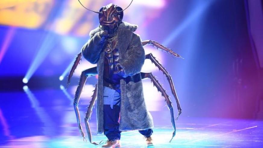 Masked Singer Kakerlake Wer