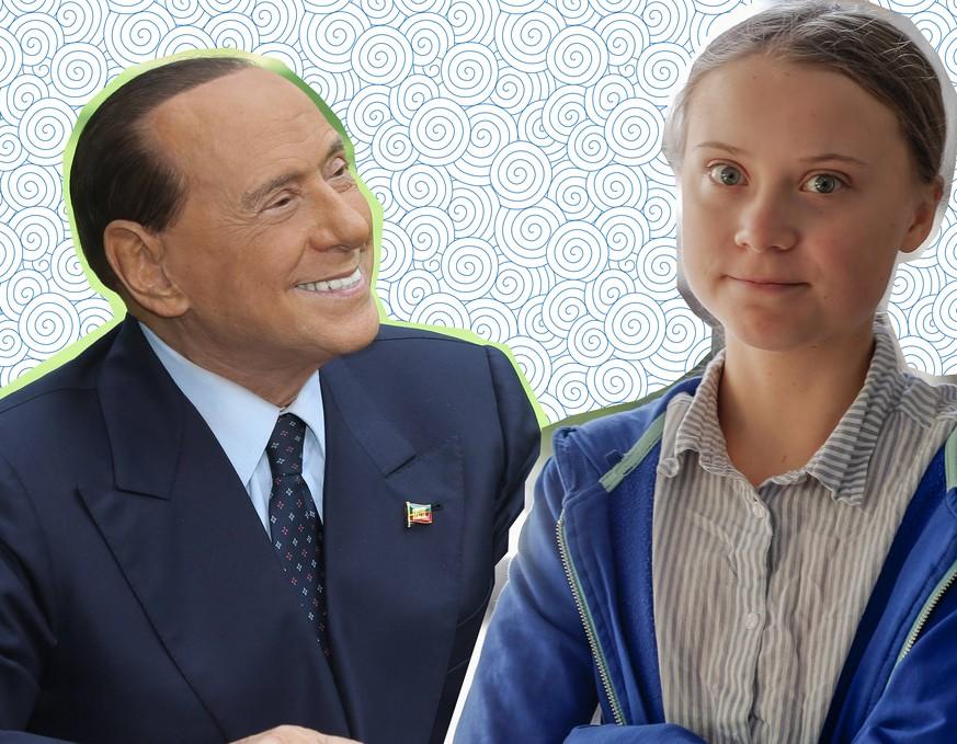 Berlusconi wird auf Greta angesprochen – und macht geschmacklosen Viagra-Witz